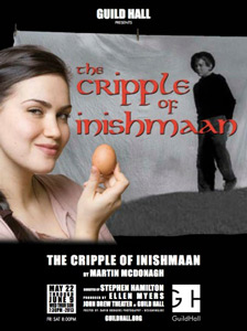 The Cripple of Inishmaan poster, with Georgia Warnershma